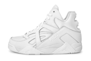 Fila - Cage - White - Side-mail